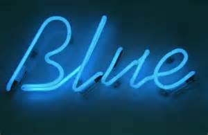 Feeling blue, & Emily Dickinson's poem