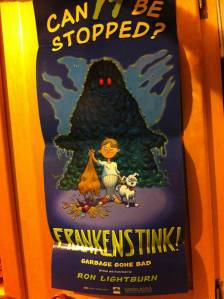 Frankenstink! Garbage Gone Bad.poster