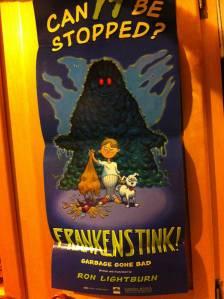 Frankenstink! Garbage Gone Bad.poster