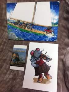 postcards from book fair