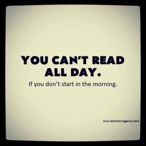 you can't read all day
